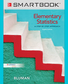 SmartBook Online Access for Elementary Statistics: A Step By Step Approach