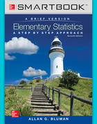 SmartBook Online Access for Elementary Statistics: A Brief Version