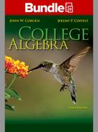 Loose Leaf College Algebra with ALEKS 18 Weeks Access Card