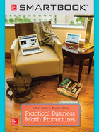 SmartBook Online Access for Practical Business Math Procedures