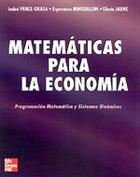 Matemáticas para Economía. Programación matemática