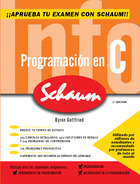 Programación en C. Serie Schaum 2ª Edición revisada