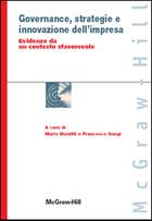 Governance, strategie e innovazione dell'impresa - Evidenze da un contesto sfavorevole