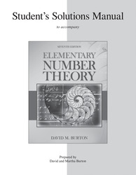 Student's Solutions Manual Elementary Number Theory