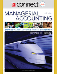 Connect Plus Online Access for  Managerial Accounting
