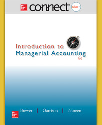 Connect 1-Semester Online Access for Introduction to  Managerial Accounting
