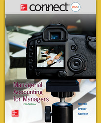 Connect 1-Semester Online Access for Managerial Accounting for Managers