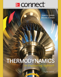 Connect Engineering with LearnSmart 2 Semester Online Access for Thermodynamics: An Engineering Approach