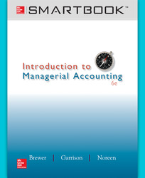 SmartBook Online Access for Introduction to Managerial Accounting
