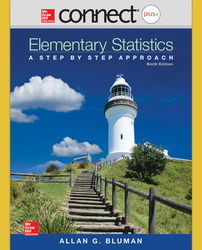 Connect Statistics hosted by ALEKS Online Access 52 Weeks for Elementary Statistics: A Step-By-Step Approach