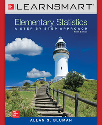 LearnSmart Standalone Online Access for Elementary Statistics: A Step By Step Approach