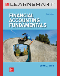 LearnSmart Standalone Online Access for Financial Accounting Fundamentals