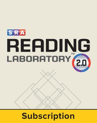 SRA Reading Laboratory™2.0 (c) 2013