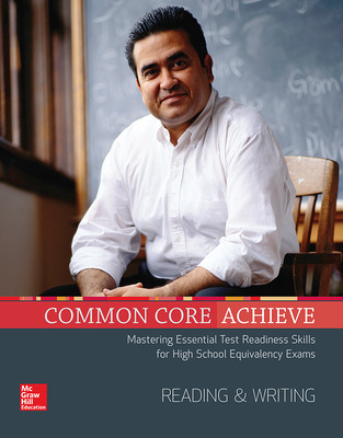 LearnSmart Achieve™ Adaptive Test Prep for 2014 GED® Test: Reading & Writing cover