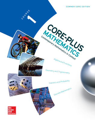 Core-Plus Mathematics cover