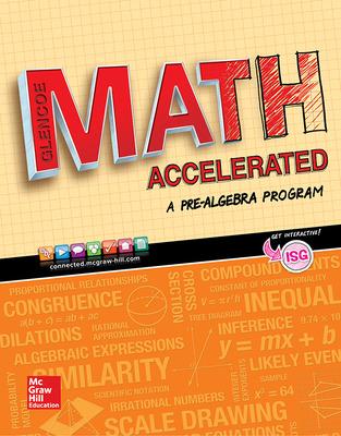 Glencoe Math Accelerated cover