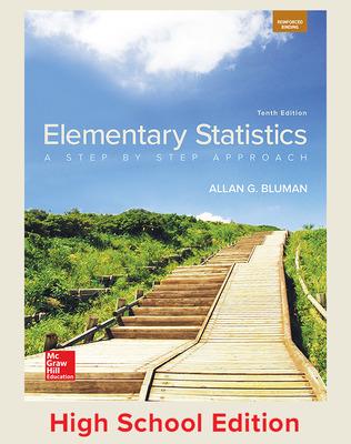 Elementary Statistics (Bluman) cover